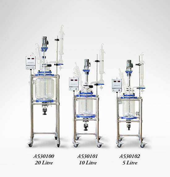 kromega Glass Jacketed Reactor